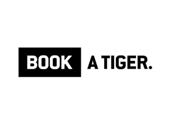 Book A Tiger Logo